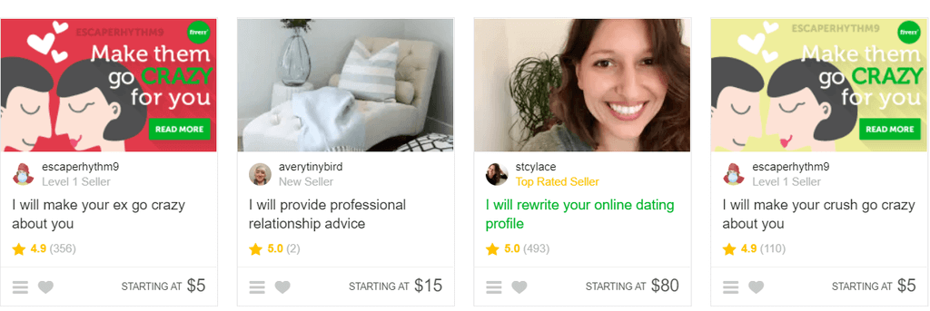 Fiverr can be a little insane